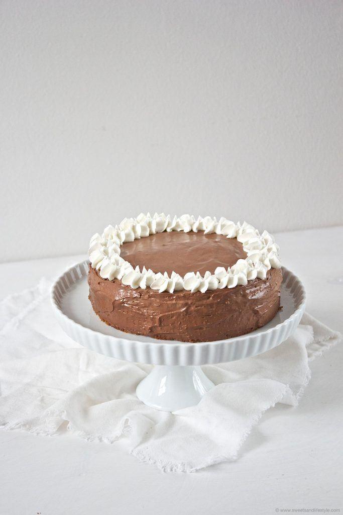 Köstliche Birnen Schokomousse Torte von Sweets and Lifestyle