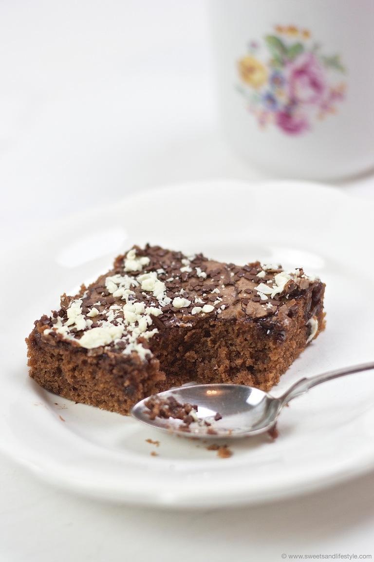 Blitzkuchen Vom Blech Rezept Sweets Lifestyle