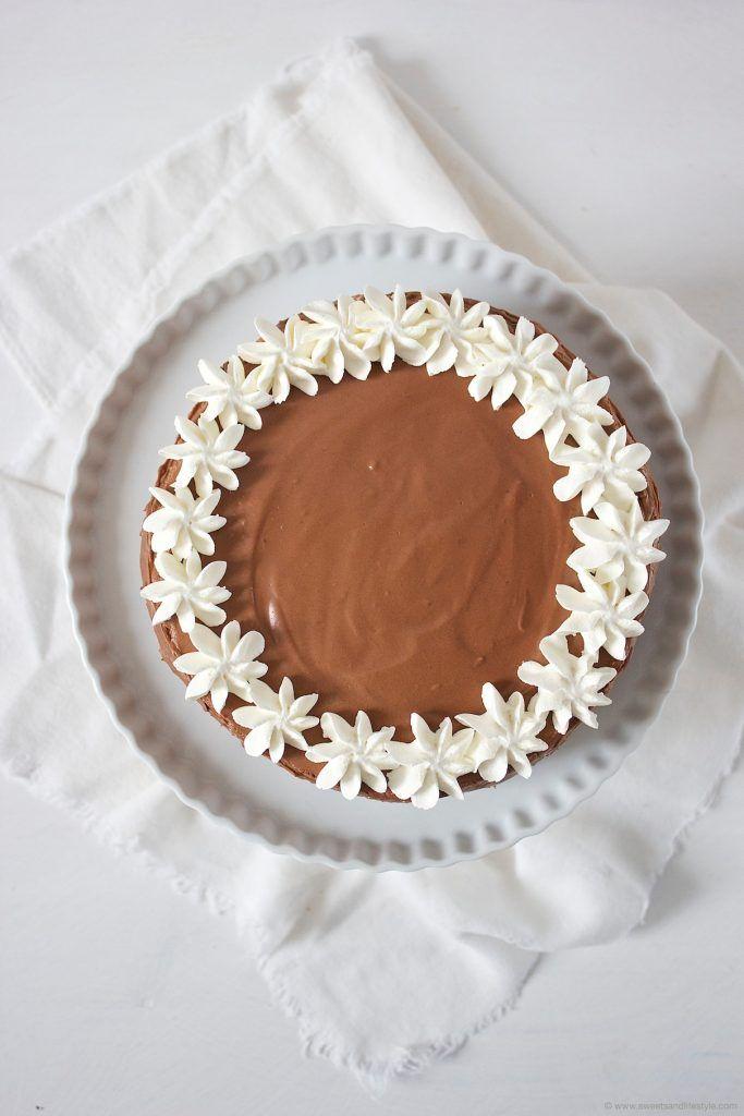 Köstliche Birnen Schokomousse Torte mit Schwips von Sweets and Lifestyle