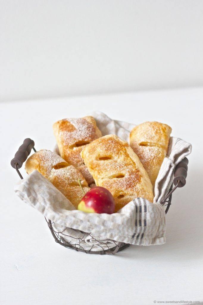 Köstliche selbst gemachte Apfeltaschen aus Blätterteig von Sweets and Lifestyle