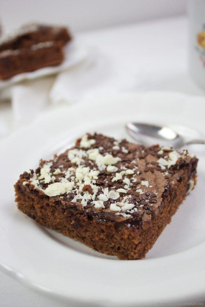 Leckerer Blitzkuchen vom Blech nach einem Rezept von Sweets & Lifestyle®
