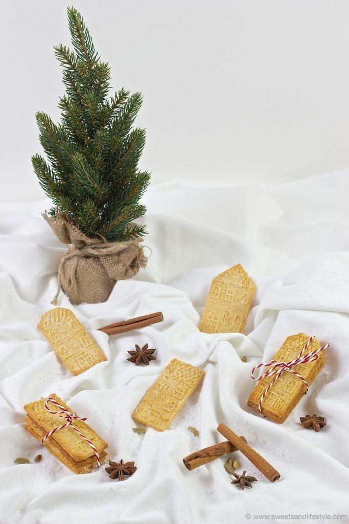 Köstlicher, selbst gemachter Spekulatius für Weihnachten nach einem Rezept von Sweets and Lifestyle