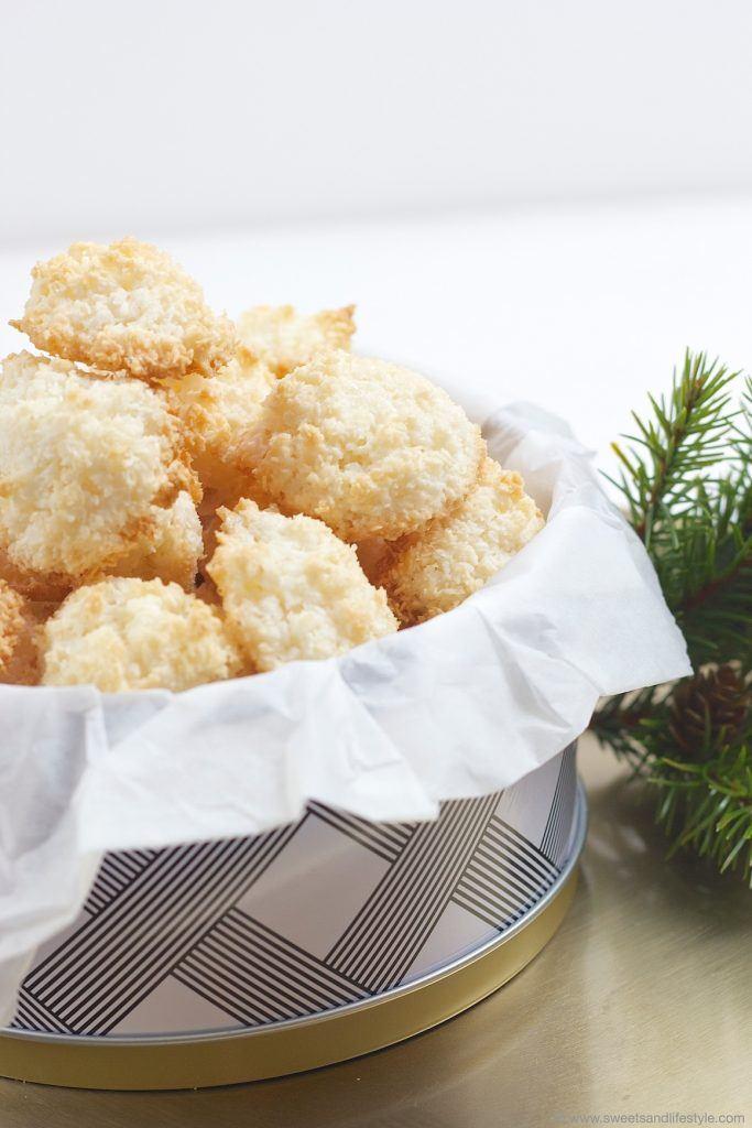 Leckere, luftig-leichte Kokosbusserl nach einem Rezept von Sweets and Lifestyle