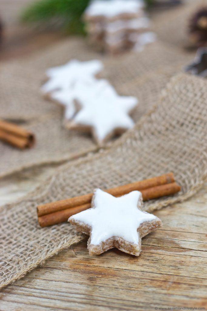 Leckere Zimtsterne nach einem einfachen Rezept von Sweets and Lifestyle