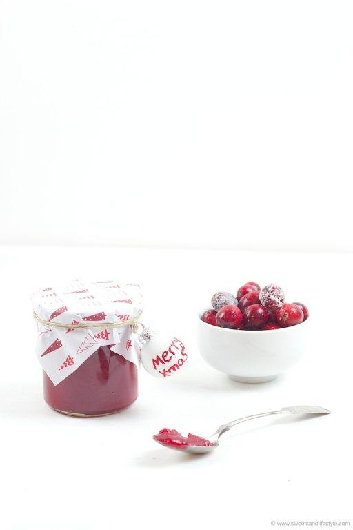 Erfrischender Cranberry Birnen Aufstrich von Sweets and Lifestyle
