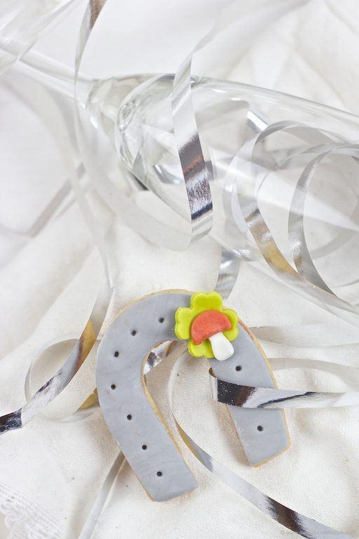 DIY Hufeisen Gluecksbringer fuer Silvester nach einer Idee von Sweets and Lifestyle