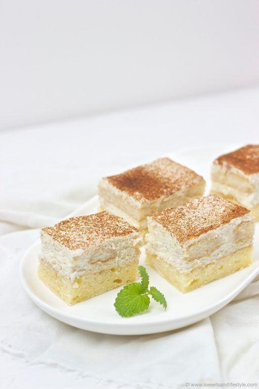 Koestliche Apfelmusschnitten vom Blech nach einem Rezept von Sweets and Lifestyle