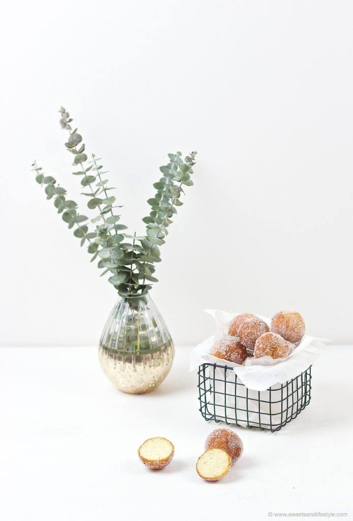 Leckere, fluffige Topfenbaellchen nach einem Rezept von Sweets and Lifestyle