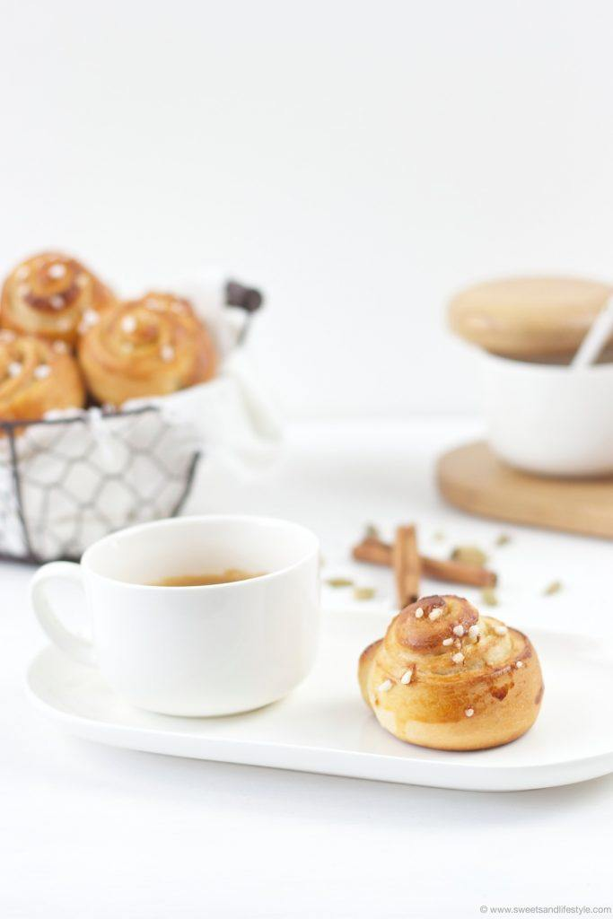 Leckere Schwedische Zimtschnecken nach einem Rezept von Sweets and Lifestyle