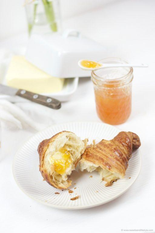 Erfrischende leicht herbe Orangenmarmelade nach einem Rezept von Sweets and Lifestyle