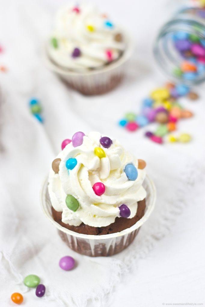 Faschingscupcakes die auch zum Kindergeburtstag passen von Sweets and Lifestyle
