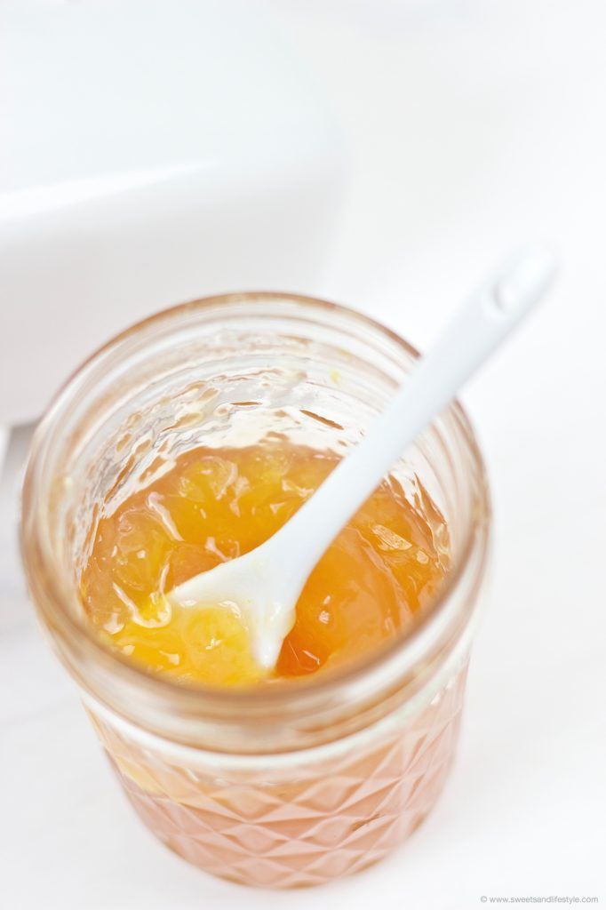 Erfrischende Orangenmarmelade mit Tonic Water von Sweets and Lifestyle