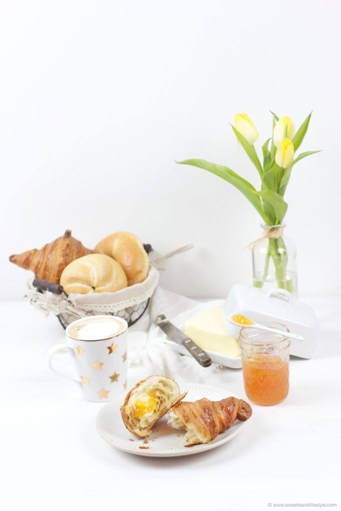 Leckere Orangenmarmelade mit Tonic Water zum Fruehstueck bei Sweets and Lifestyle