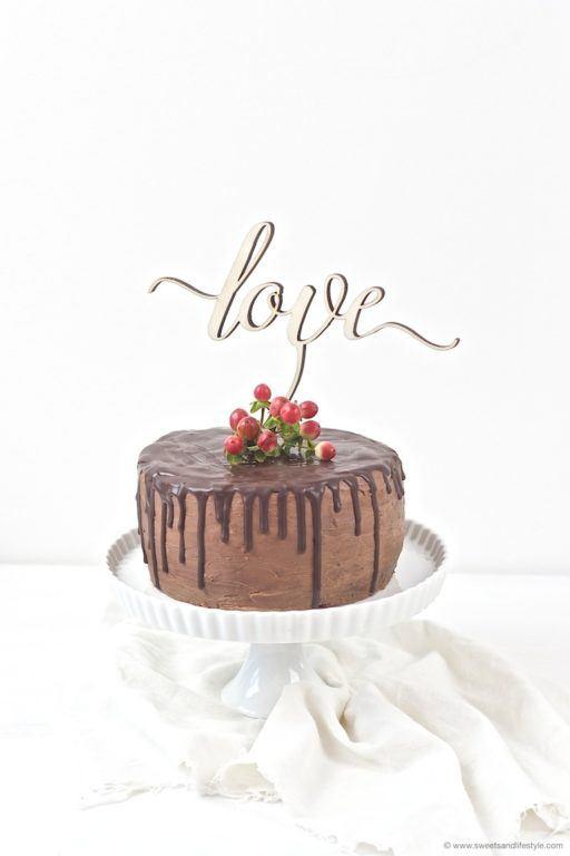 Köstliche Schokoladentorte im Drip Cake Style von Sweets and Lifestyle