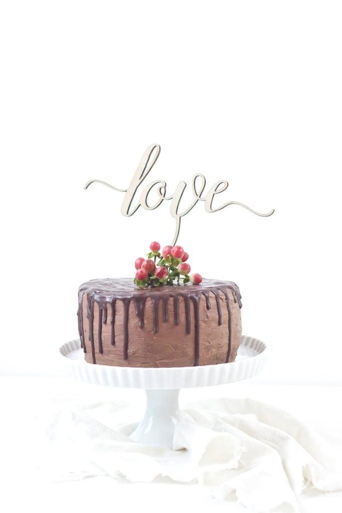 Köstliche Koestliche Schokoladentorte nach einem Rezept von Sweets and Lifestyle