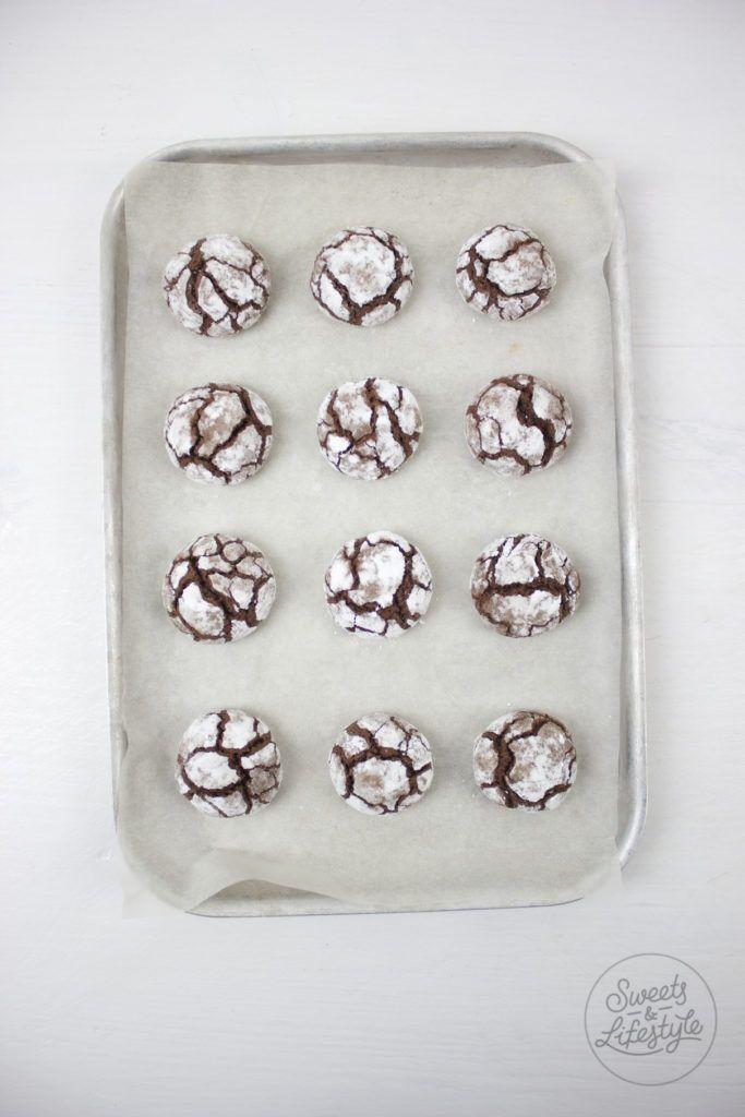 Chocolate Crinkle Cookies auch Bauernbroetchen genannt von Sweets and Lifestyle