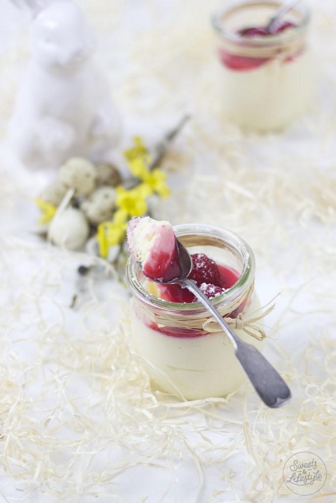 Cremiges Eierlikoer Mousse aus nur fuenf Zutaten das koestlich schmeckt von Sweets and Lifestyle