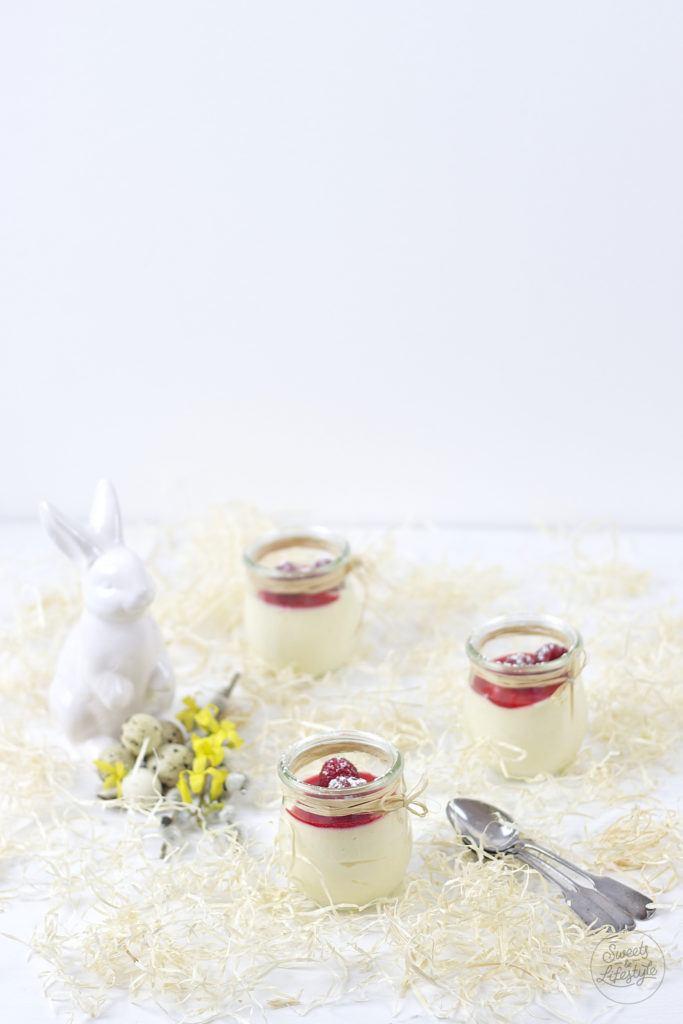Leckeres Eierlikoer Mousse fuer Ostern aus nur fünf Zutaten von Sweets and Lifestyle