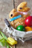 Osterhase aus Germteig gemacht von Sweets & Lifestyle®