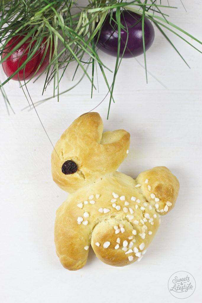 Selbst gemachter Osterhasen aus Hefeteig von Sweets and Lifestyle