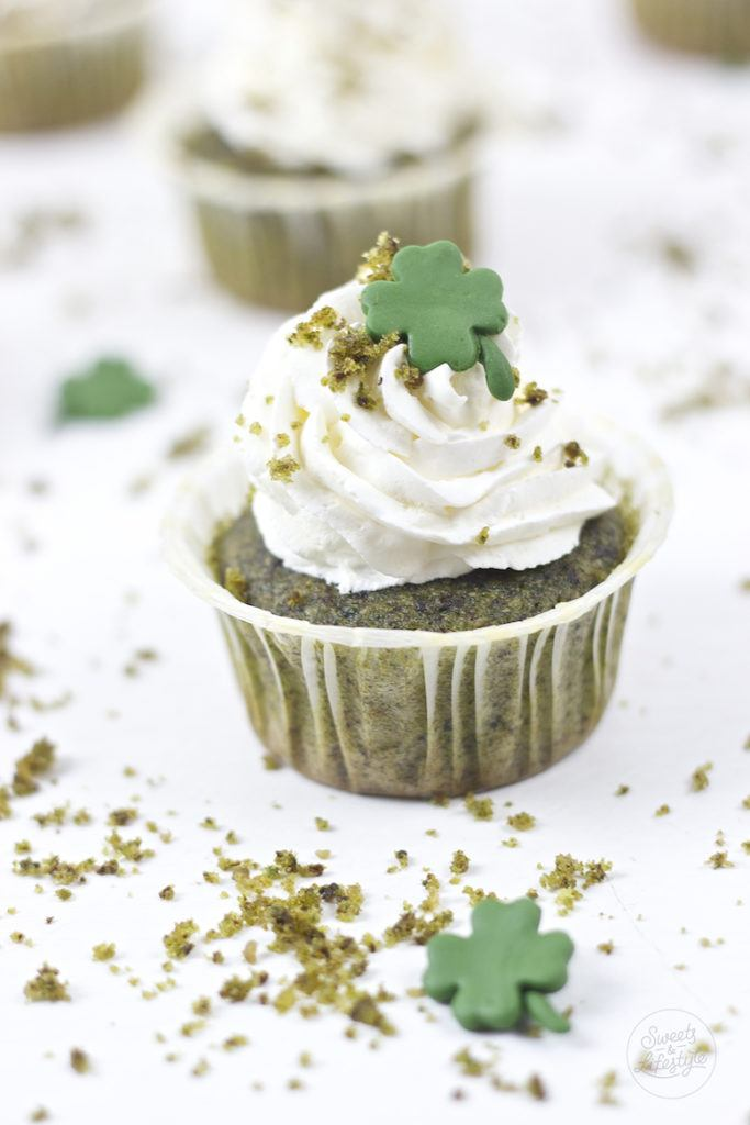 Gruene St Patrick's Day Cupcakes von Sweets and Lifestyle