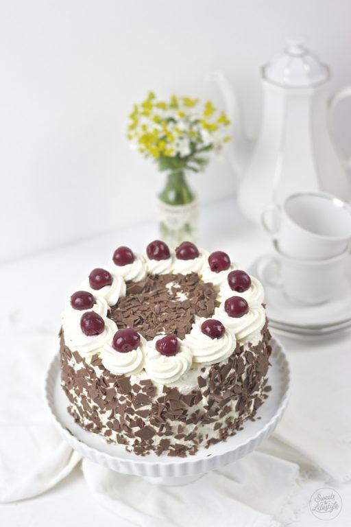 Leckere Klassische Schwarzwaelder Kirschtorte von Sweets and Lifestyle