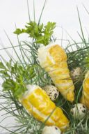 Leckere mit Frischkaese Kren Aufstrich gefuellte Blaetterteig Karotten von Sweets and Lifestyle