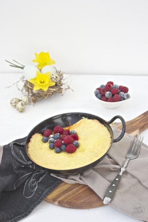 Leckeres Schaumomelette mit Beeren von Sweets and Lifestyle