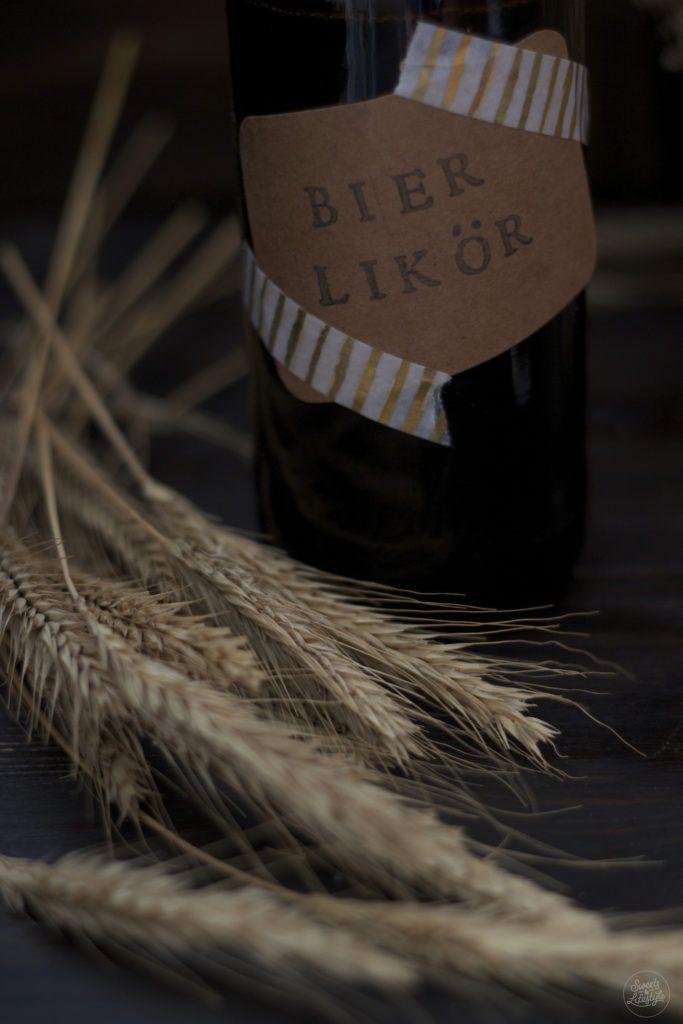 Selbst gemachter Bierlikoer als Geschenk fuer den Vatertag von Sweets and Lifestyle