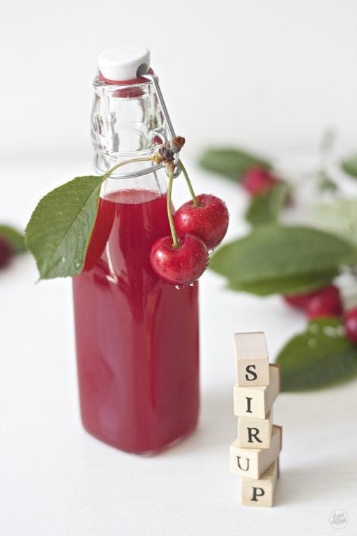 Kirschensirup Rezept von Sweets and Lifestyle
