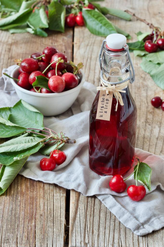 Kirschsirup selber machen nach dem Rezept von Sweets & Lifestyle®