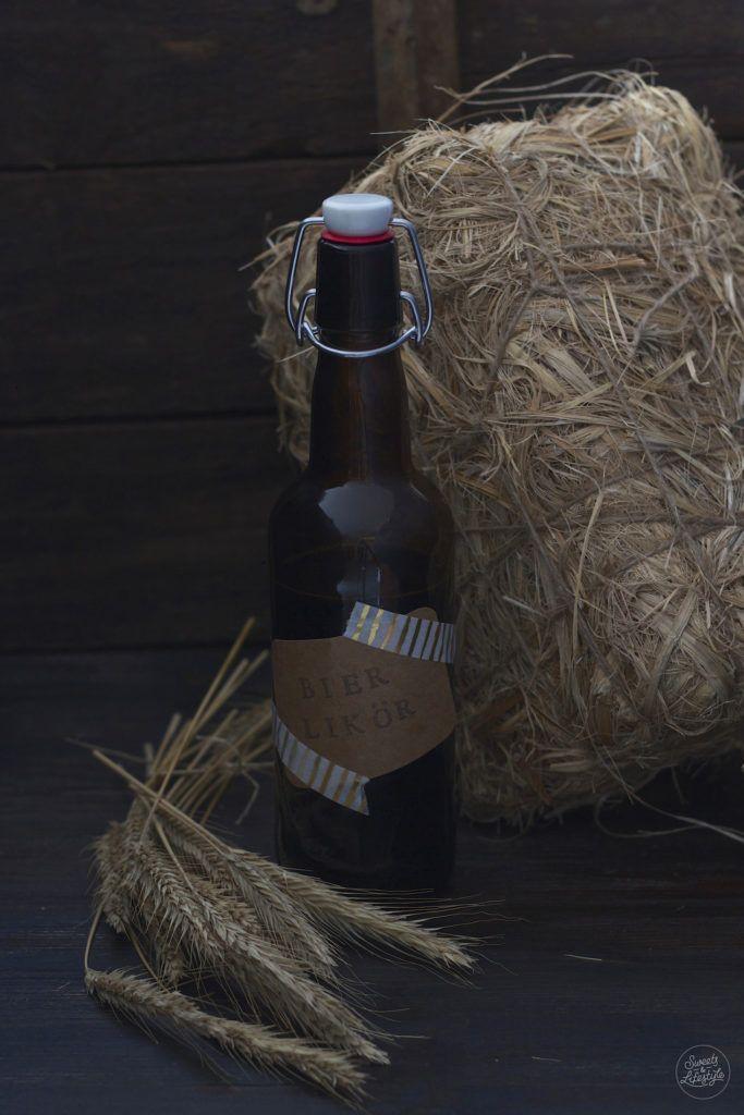 Selbst gemachter Bierlikoer nach einem Rezept von Sweets and Lifestyle