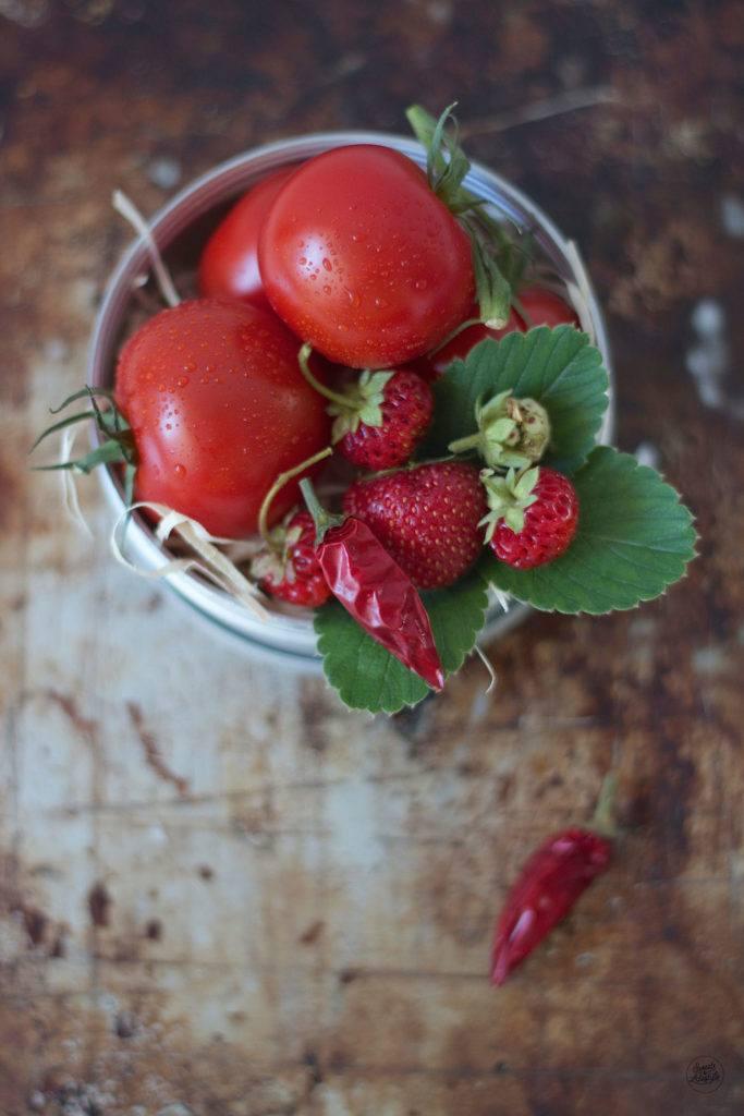 Zutaten fuer das leckere Erdbeerketchup von Sweets and Lifestyle