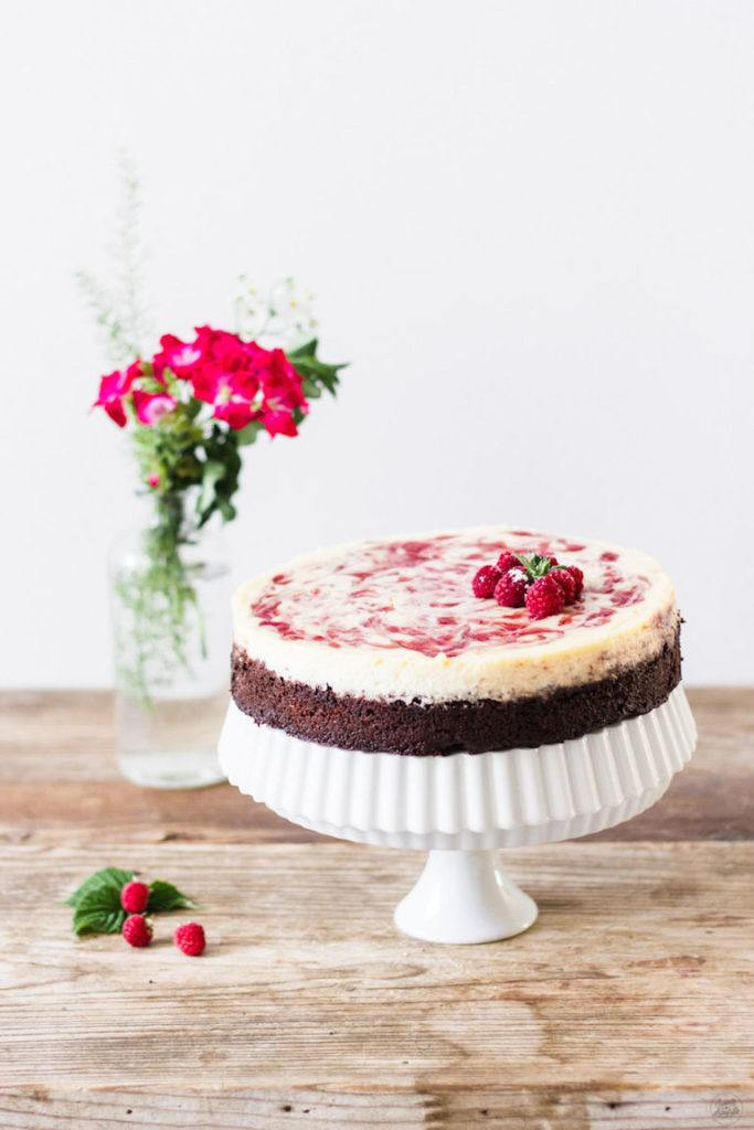 Leckeres Himbeer Cheesecake Rezept von Sweets and Lifestyle