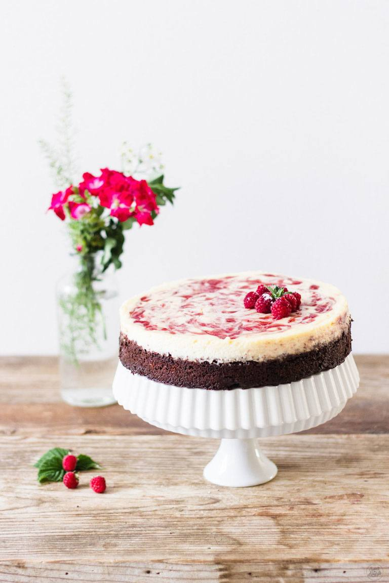 Himbeer Cheesecake Rezept von Sweets and Lifestyle