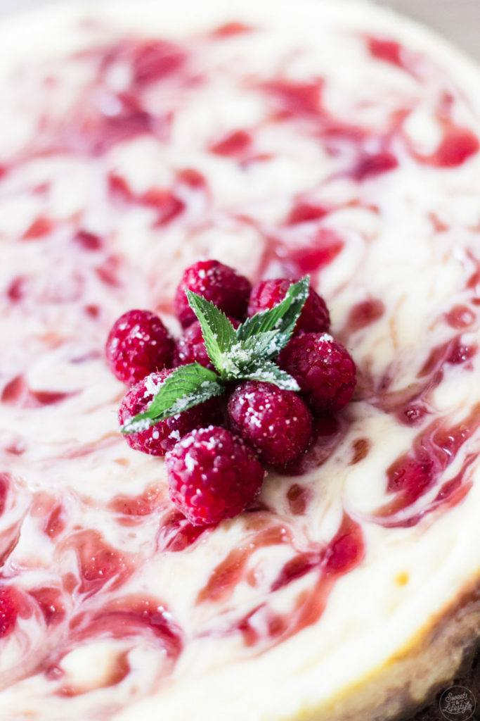 Cremiger Himbeer Cheesecake mit Swirl von Sweets and Lifestyle