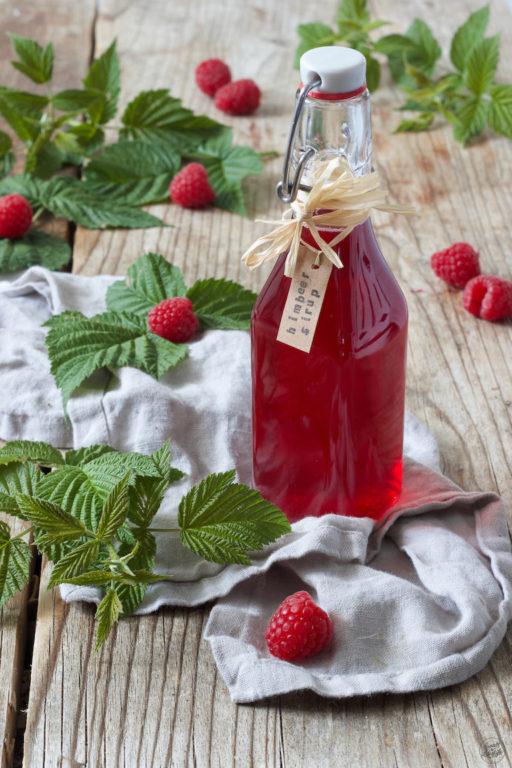 Leckeres Himbeersirup Rezept von Sweets & Lifestyle®