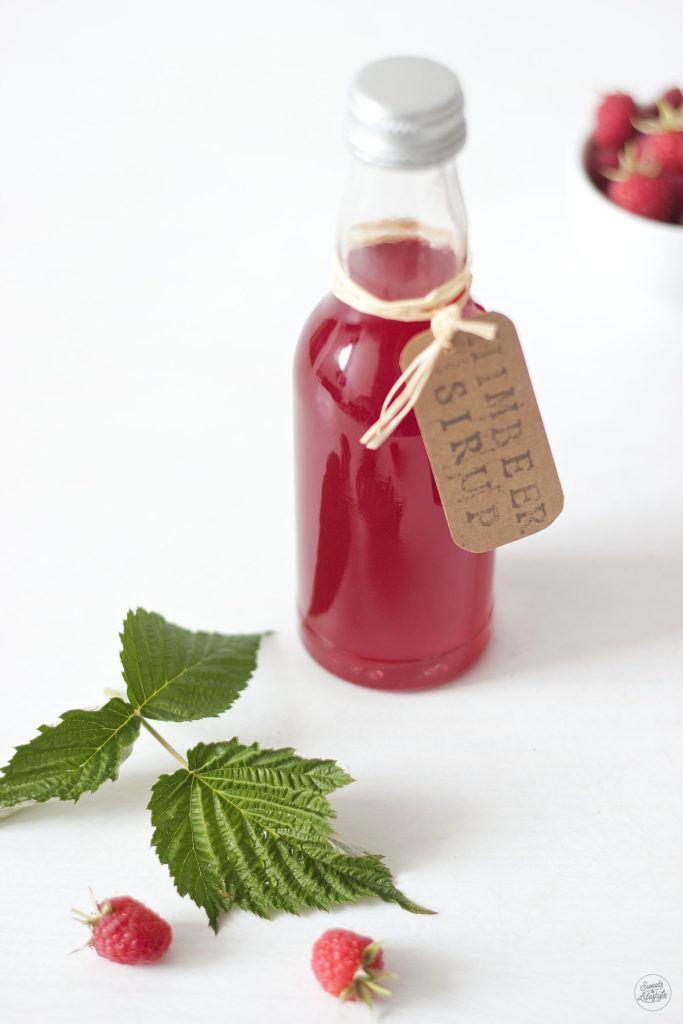 Leckeres Himbeersirup Rezept von Sweets and Lifestyle
