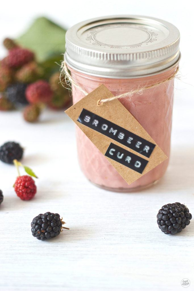 Leckeres, fruchtiges Brombeer Curd Rezept von Sweets and Lifestyle