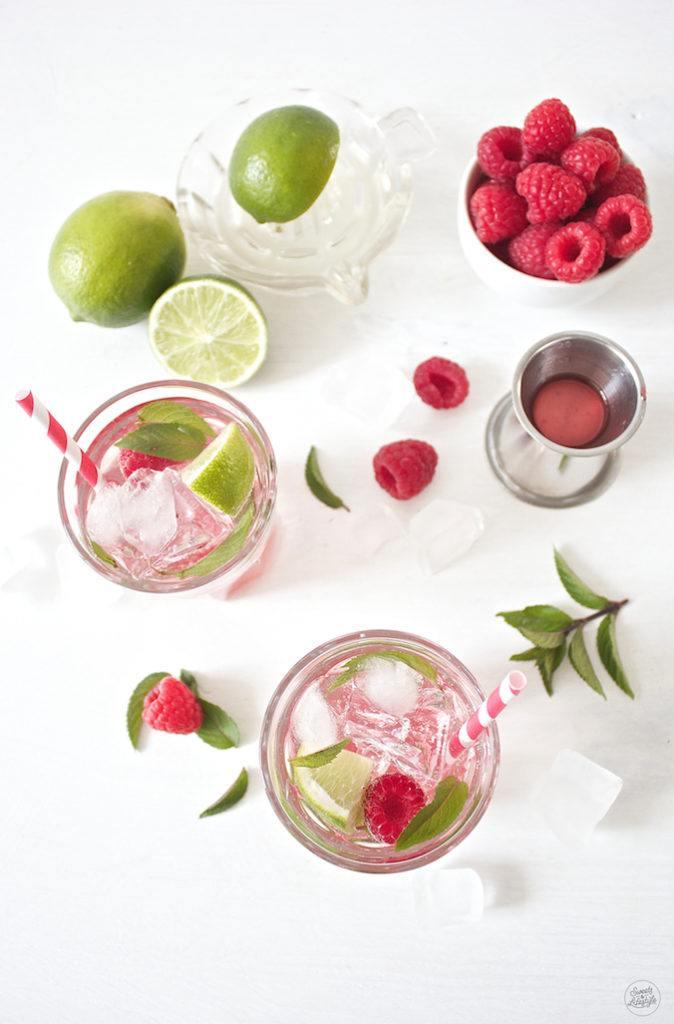 Erfrischender Raspberry Mojito von Sweets and Lifestyle