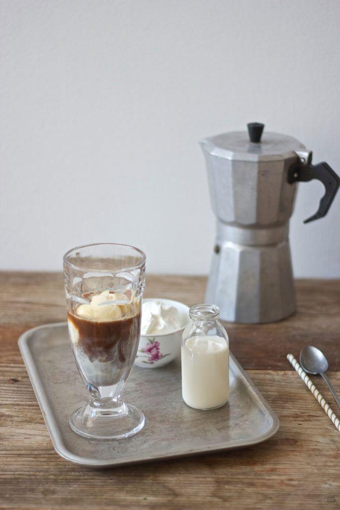 Selbst gemachter Eiskaffee mit Amaretto von Sweets and Lifestyle