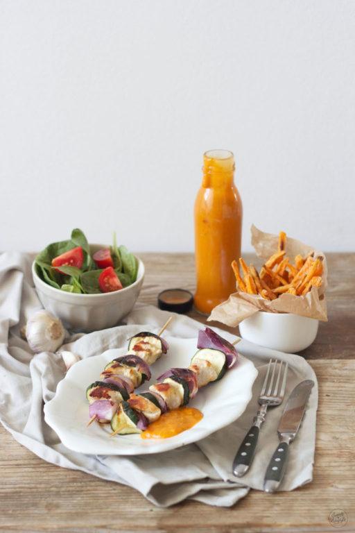 Selbst gemachter Marillenketchup als Grillsauce von Sweets and Lifestyle