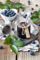 Blaubeermarmelade mit Orangenlikör nach einem Rezept von Sweets & Lifestyle®