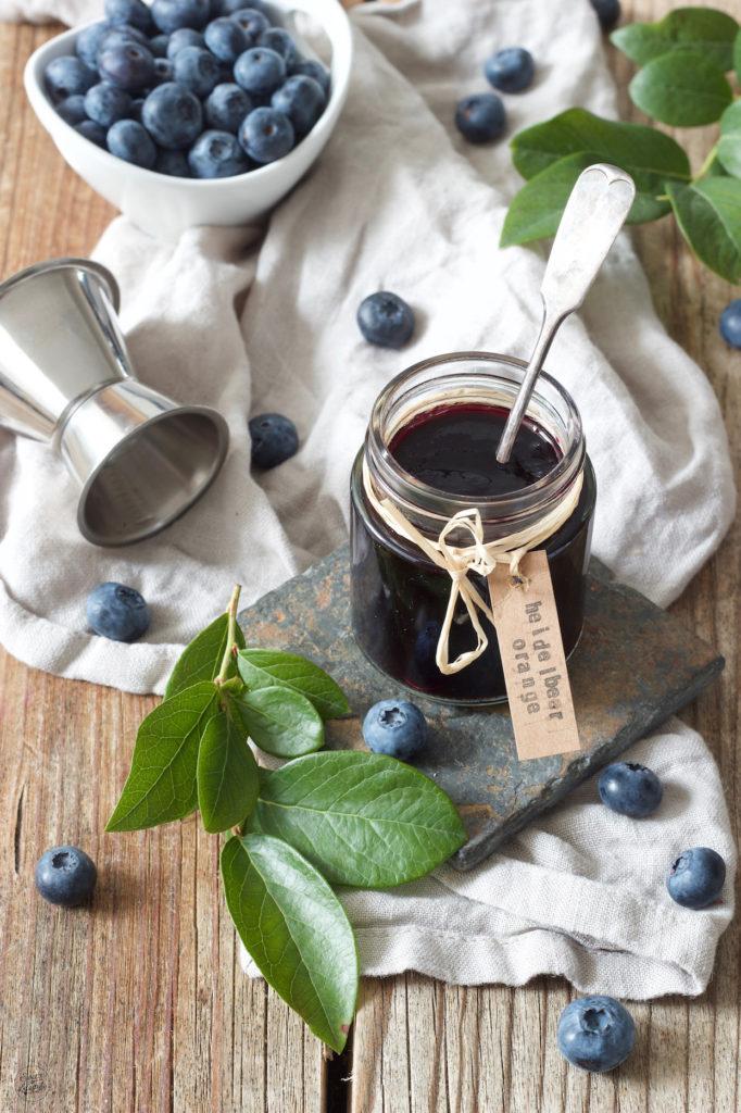 Leckere Heidelbeermarmelade mit Orangenlikör verfeinert von Sweets & Lifestyle®