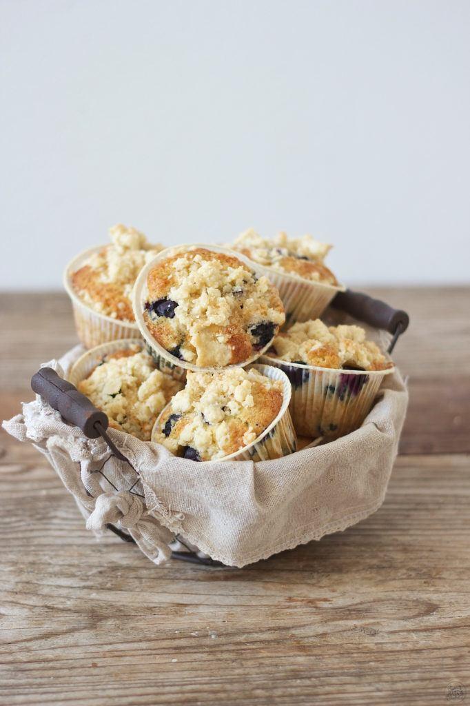 Leckere Heidelbeermuffins die schmecken wie die von den Kaffeehausketten von Sweets and Lifestyle