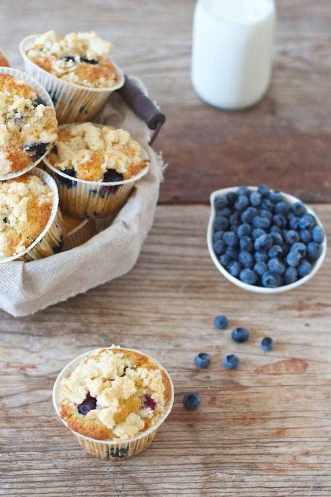 Koestliche Heidelbeermuffins von denen man nicht genug bekommt von Sweets and Lifestyle