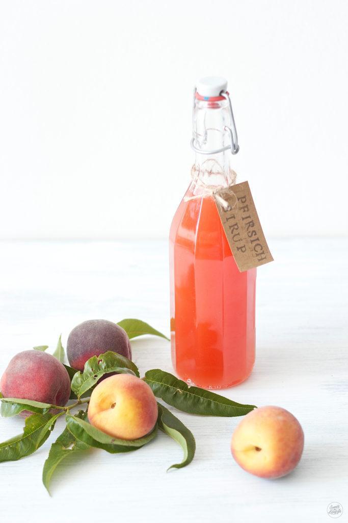 Leckeres Pfirsichsirup Rezept von Sweets and Lifestyle