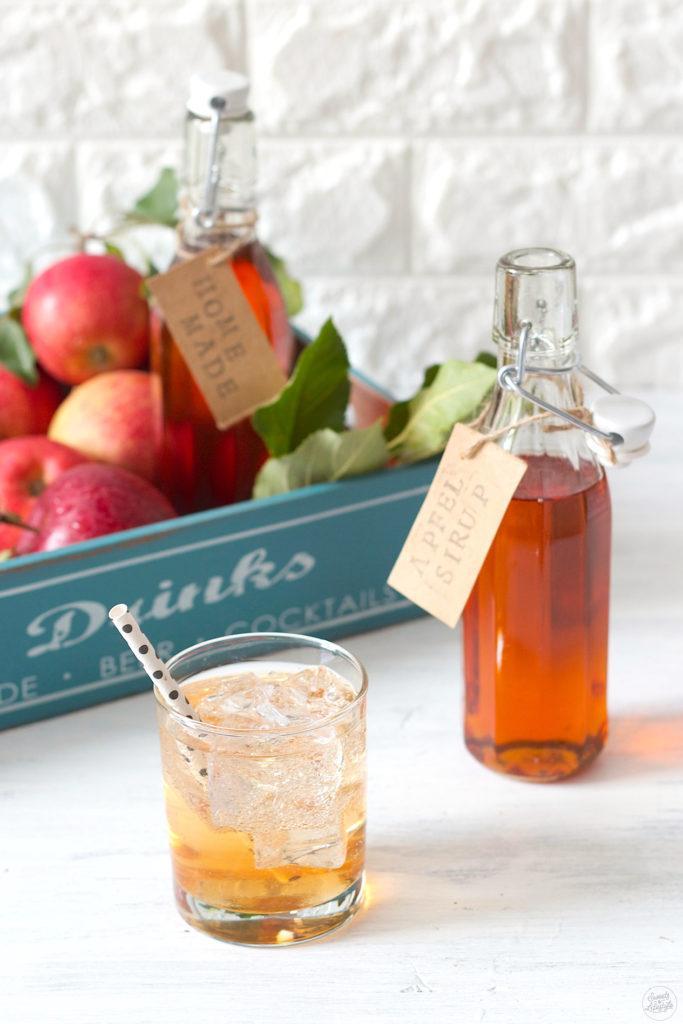 Apfelsaft gespritzt mit selbst gemachten Apfelsaft von Sweets and Lifestyle