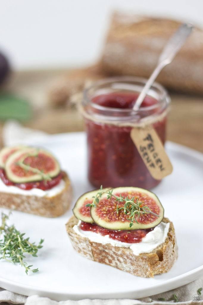 Knuspriges Baguette mit selbst gemachten Feigensenf von Sweets & Lifestyle