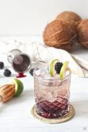 Blackberry Coco Cocktail von Sweets & Lifestyle
